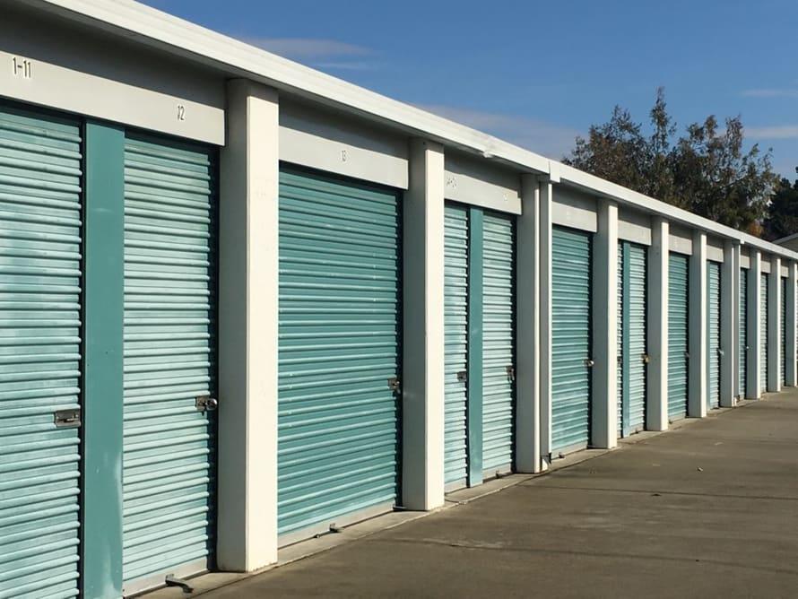 Independence Storage exterior storage doors
