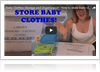 Baby clothes storage tips
